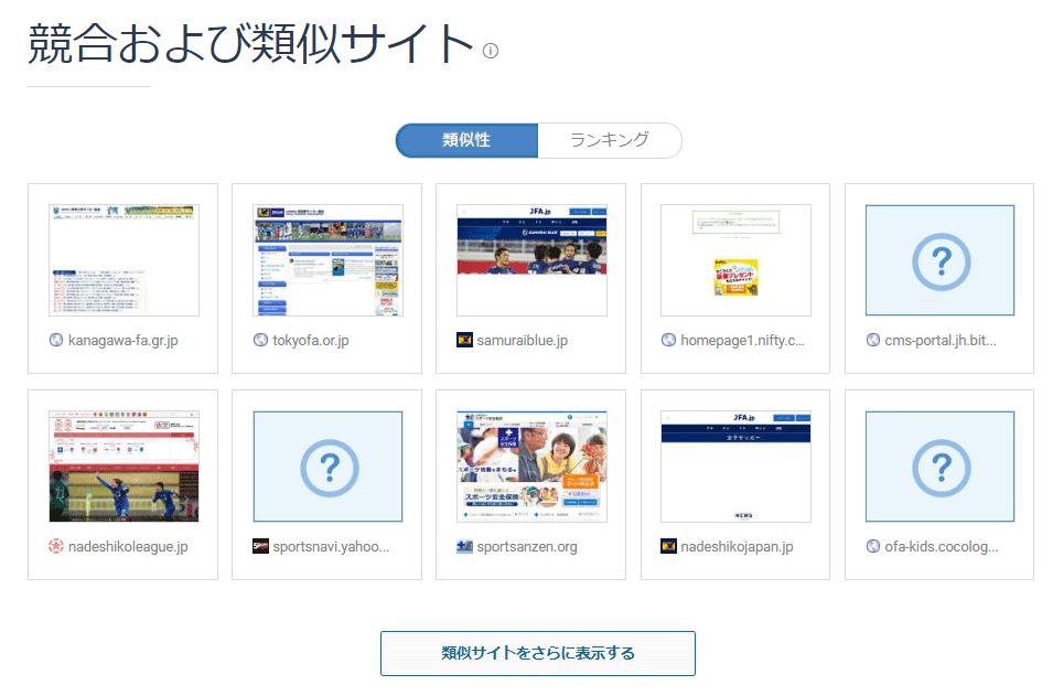 Similarwebの使い方-競合および類似サイト