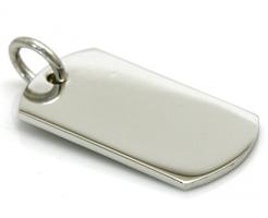 silver tag