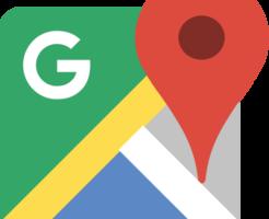 Google Maps(グーグルマップ)の地図で経路を作成して埋め込みする方法